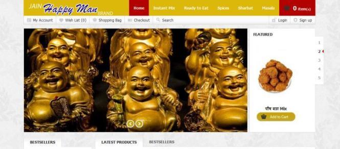Jain Happy Man Brand